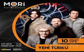 Mori Performance'ta 10 Nisan'da Yeni Türkü Konser Bileti