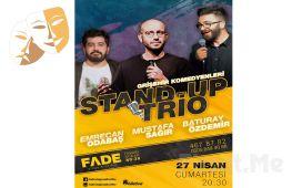 Gri Şehir Komedyenleri'nden 'Stand - Up Trio' Gösteri Bileti