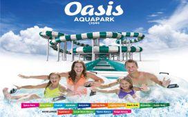 Çeşme Alaçatı Oasis Aquapark'a, Giriş Bileti ve Hamburger Menü Seçenekleri