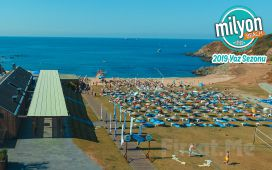 Milyon Beach Kilyos'ta Tüm Gün Plaj Keyfi
