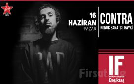 IF Performance Hall Beşiktaş'ta 16 Haziran'da 'Contra' Konser Bileti