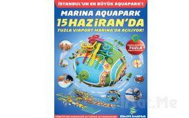 Tuzla Marina Aquapark Waterland'de Giriş, Hamburger Menü ve Gün Boyu Sınırsız Eğlence
