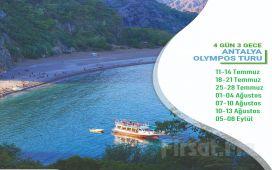 Miki Tur'dan 3 Gece Bungalovlarda Konaklamalı Olympos Turu