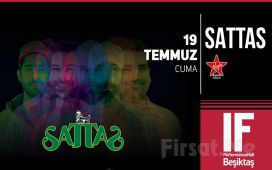 IF Performance Hall Beşiktaş'ta 19 Temmuz'da Sattas Konser Bileti