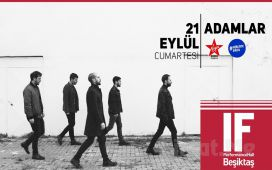 IF Performance Hall Beşiktaş'ta 21 Eylül'de 'Adamlar' Konser Giriş Bileti