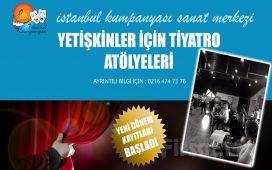 İstanbul Kumpanya'sından Yetişkinler İçin Tiyatro Eğitimi