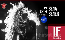 IF Performance Hall Beşiktaş'ta 19 Ekim'de 'Sena Şener' Konser Bileti