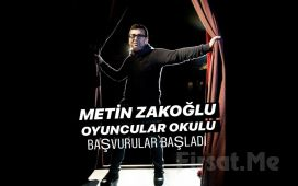 Usta Sanatçı Metin Zakoğlu ile Oyunculuk Eğitimi Atölyesi