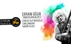 Türk Müziğinin Özgün Sesi 'Erkan Oğur Anatolian Blues' Konser Bileti