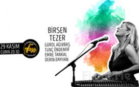 Bostanlı Suat Taşer Tiyatrosu'nda 29 Kasım'da 'Birsen Tezer' Konser Bileti