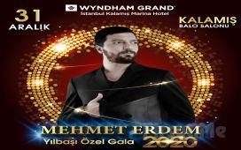Wyndham Grand İstanbul Kalamış Marina Hotel'de Enfes Lezzetler Eşliğinde 'Mehmet Erdem' İle Yılbaşı Gala Eğlencesi