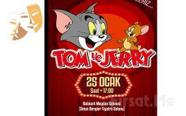 Sevilen Çizgi Film Karakterleri 'Tom ve Jerry' Tiyatro Bileti