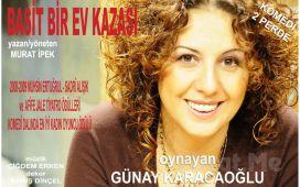 Günay Karacaoğlu'nun Performansıyla 'Basit Bir Ev Kazası' Tiyatro Oyunu Bileti