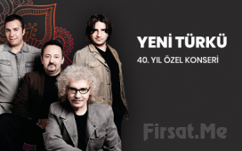 Ankara MEB Şura Salonu'nda 23 Mart'ta 'Yeni Türkü 40. Yıl' Konser Bileti