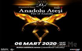 'Anadolu Ateşi 20.Yıl' Gösterisi Bileti