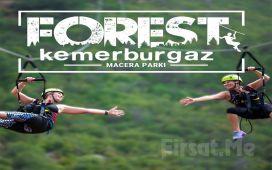 Forest Kemerburgaz Doğa ve Macera Parkı'nda Eğlence Paketleri (Haziran İtibariyle Açıldı)