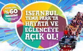 İsfanbul Tema Park İstanbul'da Eğlenceye Yolculuk Bileti (29 Haziran'da Açıldı)