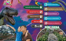 Göynük DinoPark'ta Tarih Öncesine Yolculuk Giriş Bileti