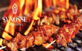 Polonezköy Synosse Park Hotel'de Kendin Pişir Kendin Ye veya Enfes Mangal ve Izgara Menüleri