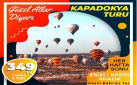 Seyrü Sefa Turizm ile 1 Gece Konaklamalı Kapadokya Turu