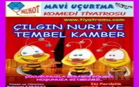 Çocuklarınız İçin Keyifli Bir Komedi 'Çılgın Nuri ve Tembel Kamber' Tiyatro Oyunu Bileti