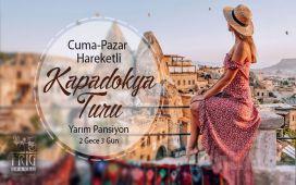 Frig Travel'dan 2 Gece 3 Gün Konaklamalı 'Kapadokya' Turu