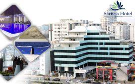 Beylikdüzü'nün Merkezi Sarissa Hotel'de 2 Kişilik Konaklama, Açık Büfe Kahvaltı, Spa Kullanımı