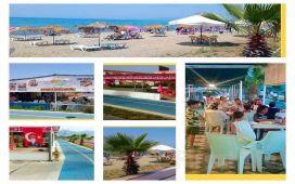 Kuşadası Rainbow Beach Club'da Serpme Kahvaltı Dahil Günübirlik Havuz ve Plaj Girişi