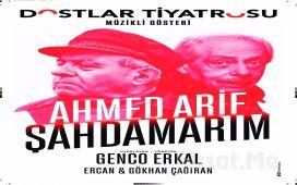 Genco Erkal'ın Usta Oyunculuğuyla Ahmed Arif'in Şiir ve Mektuplarından Uyarlanan 'Şahdamarım' Müzikli Tiyatro Oyunu Bileti
