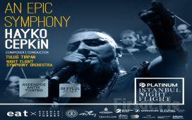 Antalya Aspendos Antik Tiyatro'da 28 Eylül'de 'An Epic Symphony - Hayko Cepkin' Konser Bileti