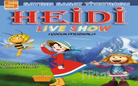 İzlenme Rekorları Kıran 'Heidi Live Show Çocuk Müzikali' Bileti
