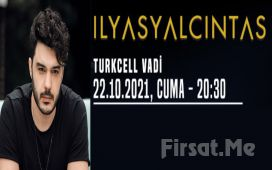 Turkcell Vadi İstanbul'da 22 Ekim'de 'İlyas Yalçıntaş' Konser Bileti
